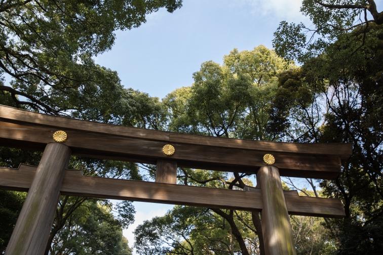 yoyogi park gates